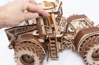 Kirovets disassembled wood toy (Kirovets tractor and trailer)
